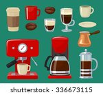 Vector Flat Illustration Coffee ...