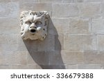 Stone Gargoyle Figure On...