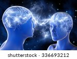 neural connections in the... | Shutterstock . vector #336693212