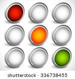 traffic lamp  traffic light ... | Shutterstock .eps vector #336738455