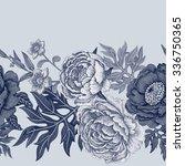 seamless pattern. illustration... | Shutterstock .eps vector #336750365