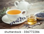 Healthy Tea Cup  Jar Of Honey ...