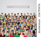 business concept illustration... | Shutterstock .eps vector #336795476