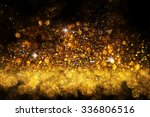 light gold and black.... | Shutterstock . vector #336806516