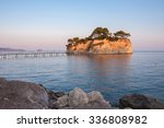 cameo island at sunset   the... | Shutterstock . vector #336808982