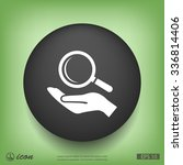 pictograph of search | Shutterstock .eps vector #336814406