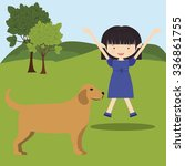 pet dog design  vector... | Shutterstock .eps vector #336861755