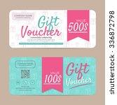 gift voucher template   eps10...   Shutterstock .eps vector #336872798