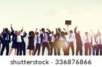 business people togetherness... | Shutterstock . vector #336876866