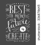 the best way to predict the... | Shutterstock .eps vector #336878645