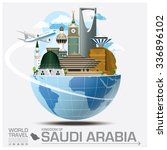 kingdom of saudi arabia... | Shutterstock .eps vector #336896102