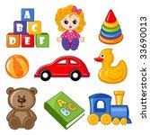 toys | Shutterstock .eps vector #33690013