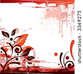 floral background design in... | Shutterstock . vector #3369275