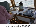 steering the boat | Shutterstock . vector #336938