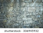 Old Stone Castle Wall