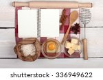 various ingredients  for the... | Shutterstock . vector #336949622