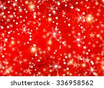 red christmas background design | Shutterstock . vector #336958562