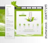 eco business website design...