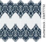 seamless lace pattern  flower... | Shutterstock .eps vector #336977732