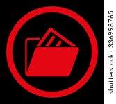 document folder vector icon....   Shutterstock .eps vector #336998765