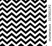 chevron seamless pattern. black ... | Shutterstock .eps vector #337001192