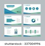 business  presentation  slide... | Shutterstock .eps vector #337004996