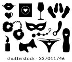 set of sexy icons. | Shutterstock .eps vector #337011746