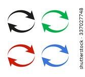 reload   color vector icon