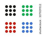 menu   color vector icon