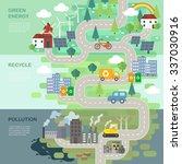 environmental protection... | Shutterstock .eps vector #337030916