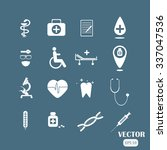medical icons | Shutterstock .eps vector #337047536