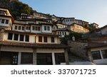 view of houses in city of berat ... | Shutterstock . vector #337071725