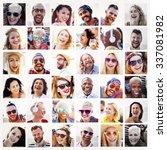 diverse people variation... | Shutterstock . vector #337081982