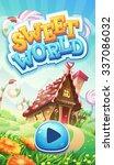 sweet world mobile gui pack... | Shutterstock .eps vector #337086032