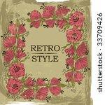 floral background | Shutterstock .eps vector #33709426