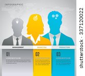 business man and women symbol... | Shutterstock .eps vector #337120022