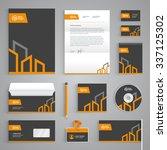 corporate identity branding...   Shutterstock .eps vector #337125302