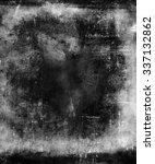 grunge scratched texture... | Shutterstock . vector #337132862