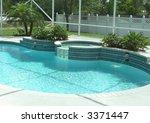 Outdoor Living Poolside...
