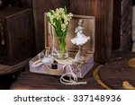 ������, ������: Flowers and ballerina decor