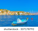 traditional small fishing boat... | Shutterstock . vector #337178792