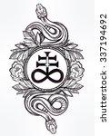 vintage tattoo art. highly... | Shutterstock .eps vector #337194692