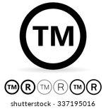 trademark symbol | Shutterstock .eps vector #337195016