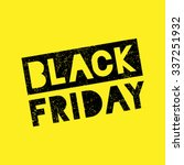 black friday sale scribble... | Shutterstock .eps vector #337251932