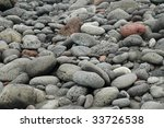 gray and red rocks on a black... | Shutterstock . vector #33726538