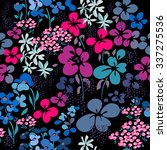 ditsy floral   seamless... | Shutterstock .eps vector #337275536