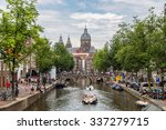 Canal And St. Nicolas Church I...