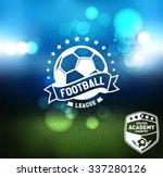 soccer football badge logo... | Shutterstock .eps vector #337280126