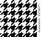 trendy houndstooth pattern that ... | Shutterstock .eps vector #33728077