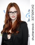Small photo of Alyssa Campanella at the 2nd Annual American Giving Awards held at the Pasadena Civic Auditorium in Los Angeles, California, United States on December 7, 2012.